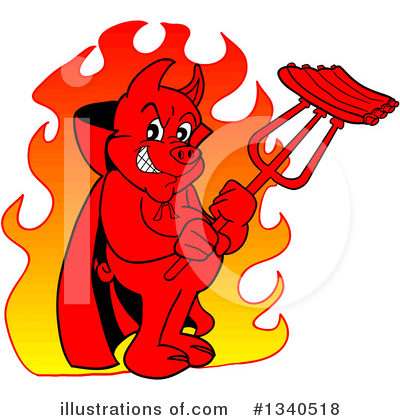 Devil Clipart #1340518 by LaffToon