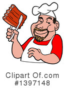 Royalty-Free (RF) Bbq Clipart Illustration #1397148