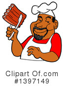 Royalty-Free (RF) Bbq Clipart Illustration #1397149