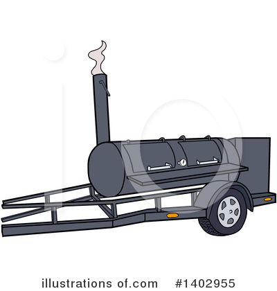 Smoker Clipart #1402955 by LaffToon
