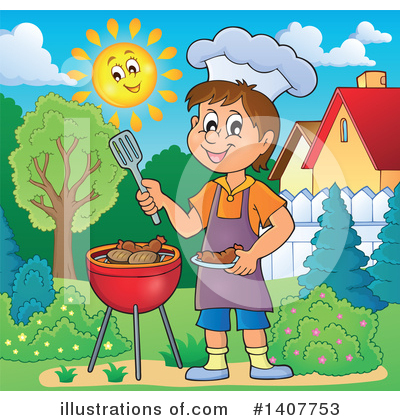 Bbq Clipart #1407753 by visekart