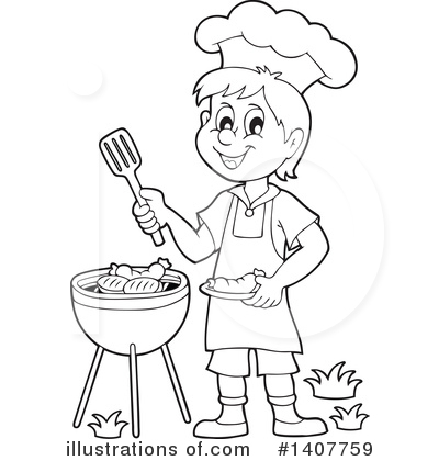 Bbq Clipart #1407759 by visekart
