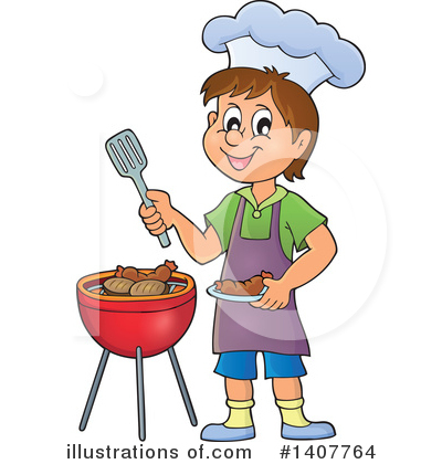 Boy Clipart #1407764 by visekart