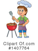 Royalty-Free (RF) Bbq Clipart Illustration #1407764
