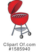 Bbq Clipart #1585940 by visekart