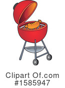 Bbq Clipart #1585947 by visekart
