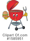 Bbq Clipart #1585951 by visekart