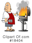 Royalty-Free (RF) Bbq Clipart Illustration #18404