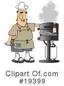 Royalty-Free (RF) bbq Clipart Illustration #19399