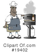 Royalty-Free (RF) bbq Clipart Illustration #19402