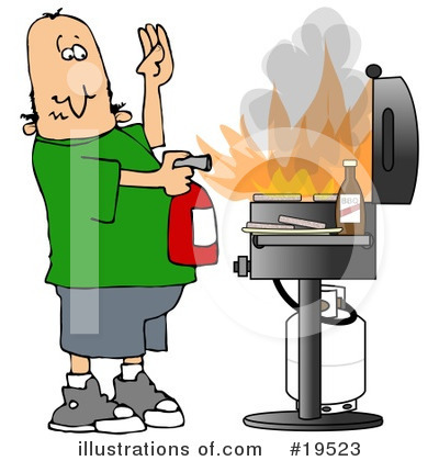 Fire Extinguisher Clipart #19523 by djart