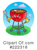 Royalty-Free (RF) Bbq Clipart Illustration #222318