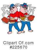 Bbq Clipart #225670 by LaffToon