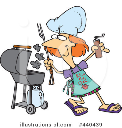 Bbq Clipart #440439 by toonaday