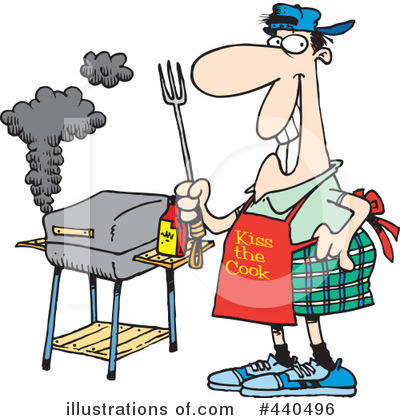 Bbq Clipart #440496 by toonaday