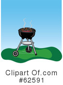 Royalty-Free (RF) Bbq Clipart Illustration #62591