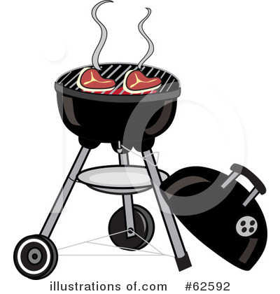 Royalty-Free (RF) Bbq Clipart Illustration by Pams Clipart - Stock Sample #62592