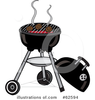 Royalty-Free (RF) Bbq Clipart Illustration by Pams Clipart - Stock Sample #62594