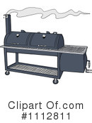 Bbq Smoker Clipart #1112811 by LaffToon