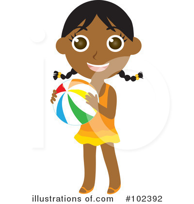 Little Girl Clipart #102392 by Rosie Piter