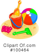 Beach Clipart #100464 by Pushkin