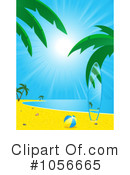 Royalty-Free (RF) Beach Clipart Illustration #1056665