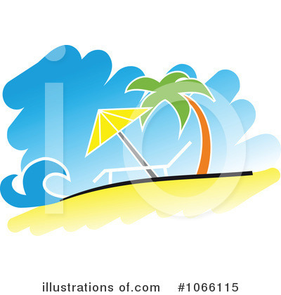 Royalty-Free (RF) Beach Clipart Illustration by Vector Tradition SM - Stock Sample #1066115