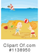 Royalty-Free (RF) Beach Clipart Illustration #1138950