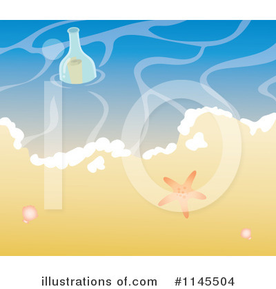 Beach Clipart #1145504 by Rosie Piter