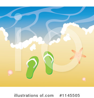 Beach Clipart #1145505 by Rosie Piter