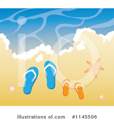 Beach Clipart #1145506 by Rosie Piter
