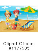 Beach Clipart #1177935 by Graphics RF