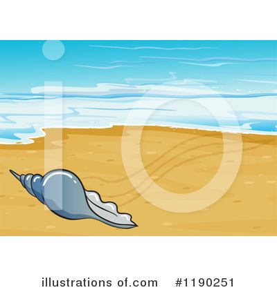 Seashell Clipart #1190251 by Graphics RF