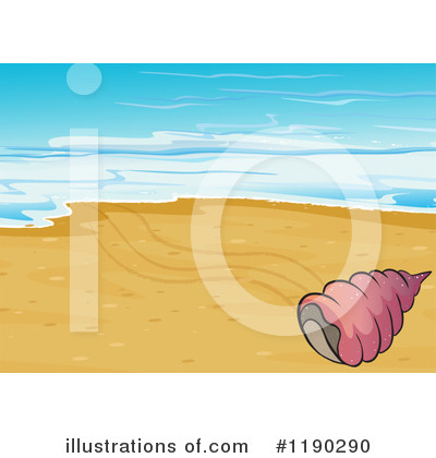 Seashell Clipart #1190290 by Graphics RF