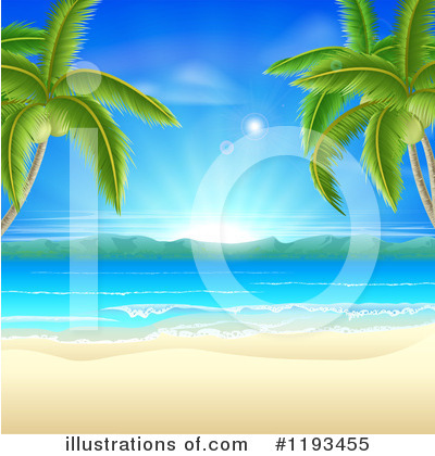 Royalty-Free (RF) Beach Clipart Illustration by AtStockIllustration - Stock Sample #1193455