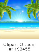 Royalty-Free (RF) Beach Clipart Illustration #1193455