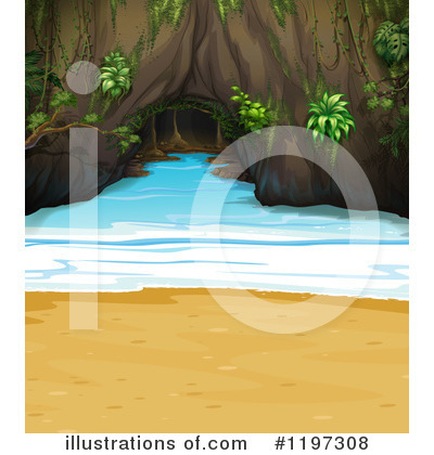 Cave Clipart #1197308 by Graphics RF