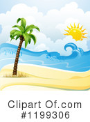 Royalty-Free (RF) Beach Clipart Illustration #1199306