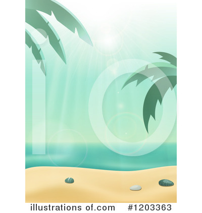 Royalty-Free (RF) Beach Clipart Illustration by elaineitalia - Stock Sample #1203363