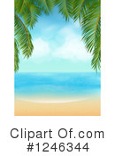 Royalty-Free (RF) Beach Clipart Illustration #1246344
