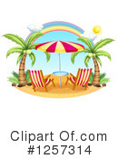 Beach Clipart #1257314 by Graphics RF