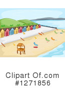 Royalty-Free (RF) Beach Clipart Illustration #1271856