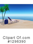 Beach Clipart #1296390 by KJ Pargeter