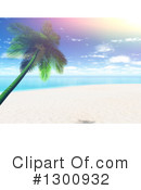 Royalty-Free (RF) Beach Clipart Illustration #1300932