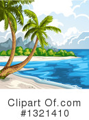 Royalty-Free (RF) Beach Clipart Illustration #1321410
