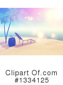 Beach Clipart #1334125 by KJ Pargeter