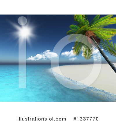 Royalty-Free (RF) Beach Clipart Illustration by KJ Pargeter - Stock Sample #1337770