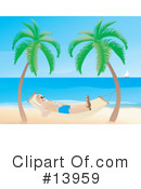 Royalty-Free (RF) Beach Clipart Illustration #13959