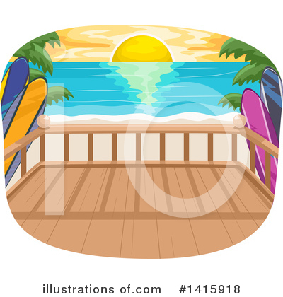 Tropical Clipart #1415918 by BNP Design Studio