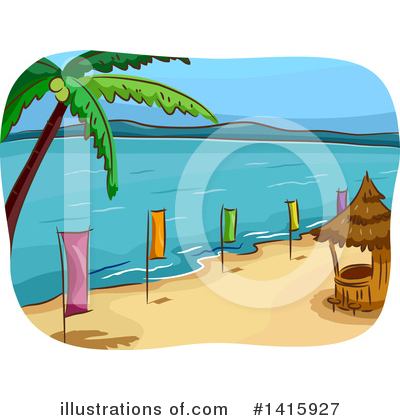 Palm Tree Clipart #1415927 by BNP Design Studio